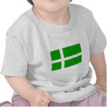 Barra, bandera de Reino Unido Camiseta