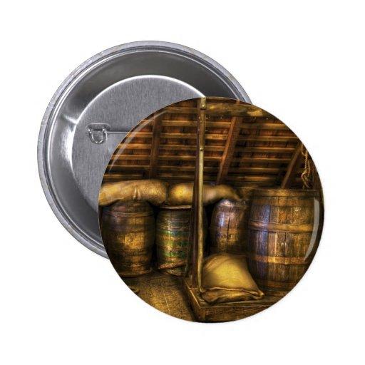 Barra - barriles de vino pin
