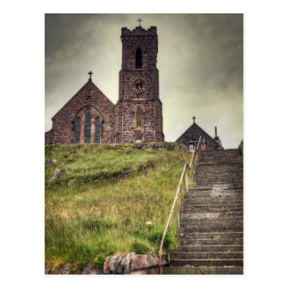 Barra Church Postcard