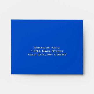 Barra contemporáneo rojo y azul de Mitzvah
