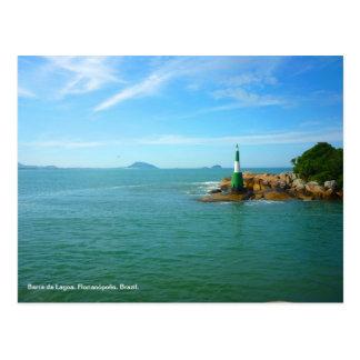 Barra da Lagoa, Brazil Post Card