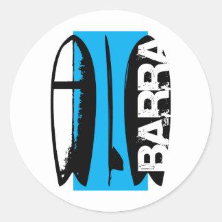Barra da Tijuca, RJ Classic Round Sticker
