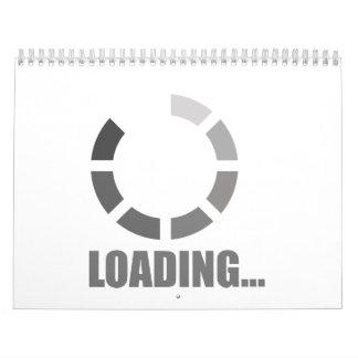 Barra de cargamento calendarios