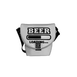 Barra de cargamento de la cerveza bolsa de mensajeria