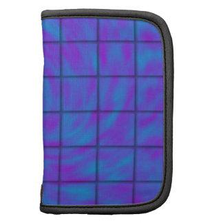 Barra de chocolate azul/púrpura planificadores