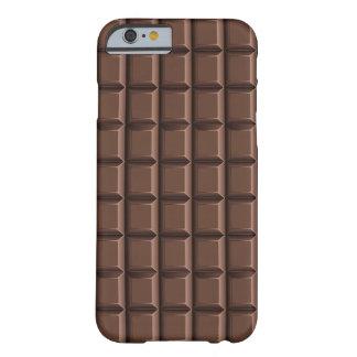 Barra de chocolate/caso funda para iPhone 6 barely there