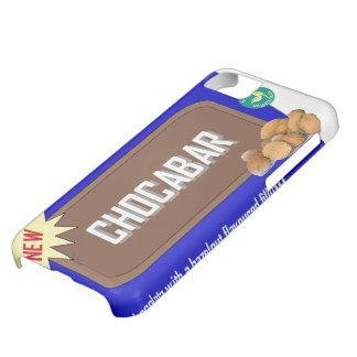 Barra de chocolate con las nueces funda para iPhone 5C