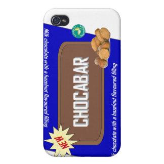 Barra de chocolate con las nueces iPhone 4/4S fundas