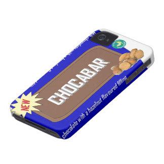 Barra de chocolate con las nueces iPhone 4 cobertura