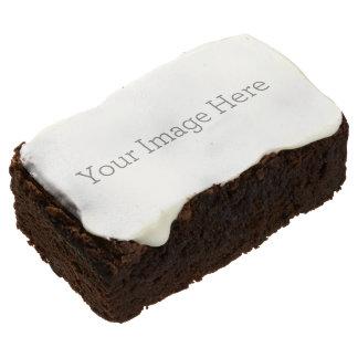 Barra de encargo del brownie