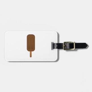 Barra de helado etiquetas maleta