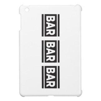 Barra de la barra de la barra iPad mini protectores