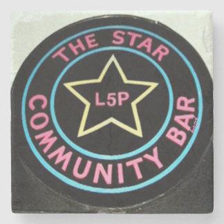 Barra de la estrella, poco 5 puntos, L5P, práctico Posavasos De Piedra