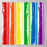 BARRA DE LA TINTA DEL ORGULLO DE LGBT POSTER