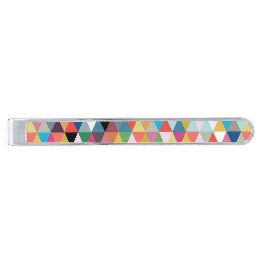 Barra de lazo geométrica colorida del modelo