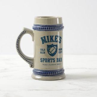 Barra de los deportes de Mike Stein personalizado Tazas De Café
