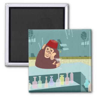 Barra de Martini del mono de Fes Imán De Frigorífico