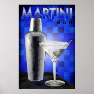 Barra de Martini Posters