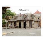 Barra de New Orleans Luisiana Lafitte de la postal