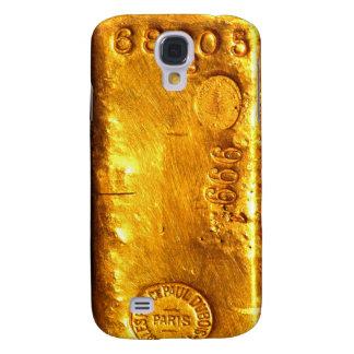 Barra de oro funda para galaxy s4