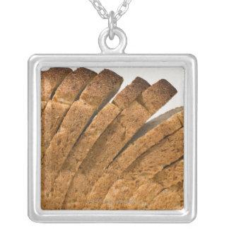 Barra de pan cortada colgantes personalizados