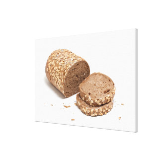 Barra de pan lona envuelta para galerías