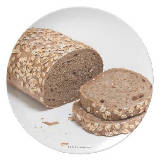 Barra de pan platos para fiestas