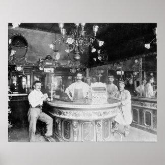 Barra de París, 1895 Póster