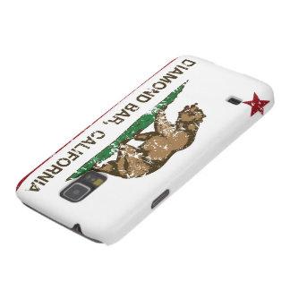 Barra del diamante de la bandera del Stat de Calif Carcasa De Galaxy S5