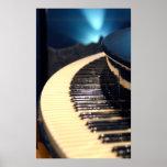 Barra del piano posters