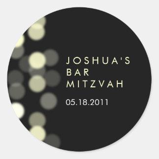 Barra del proyector/pegatina de Mitzvah del palo