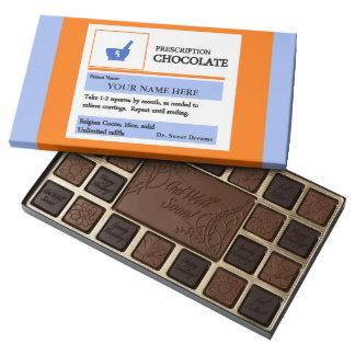 Barra divertida del regalo del chocolate de la caja de bombones variados con 45 piezas
