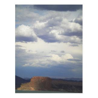 Barra el lago Mead Arizona del templo Postales