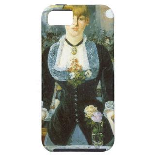 Barra en el Folies-Bergere, Manet, bella arte del iPhone 5 Carcasas