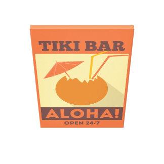 Barra hawaiana de Tiki de la hawaiana Lona Estirada Galerías