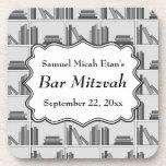 Barra Mitzvah del diseño del estante de librería Posavasos