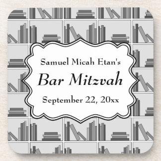 Barra Mitzvah del diseño del estante de librería Posavasos De Bebida