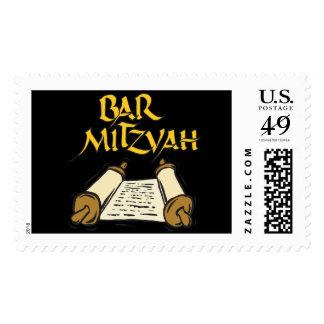 Barra Mitzvah Estampillas