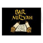 Barra Mitzvah Felicitaciones