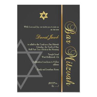 Barra Mitzvah/grafito/oro Comunicado Personal