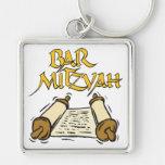 Barra Mitzvah Llaveros Personalizados