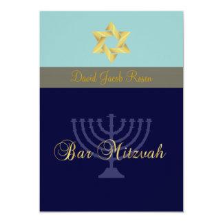 Barra Mitzvah/luz + azul marino Comunicado