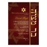 Barra Mitzvah/marrón/falso oro de PixDezines