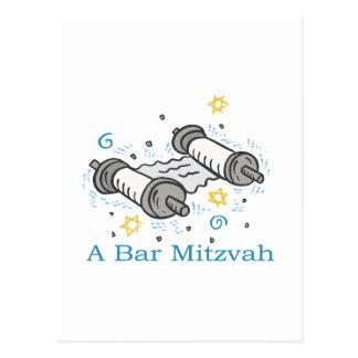 Barra Mitzvah Postales