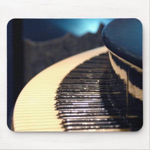 Barra Mousepad del piano Alfombrillas De Ratones
