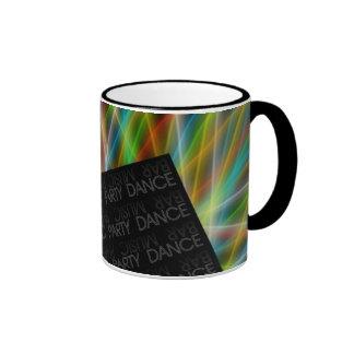 Barra, música, fiesta, danza - taza