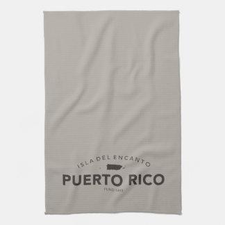 Barra o cocina de Puerto Rico Toallas De Mano