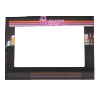 barra retra de los años 80 marcos magnéticos de fotos