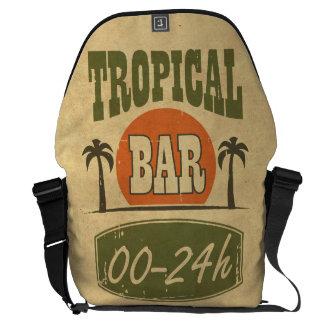Barra tropical bolsas messenger