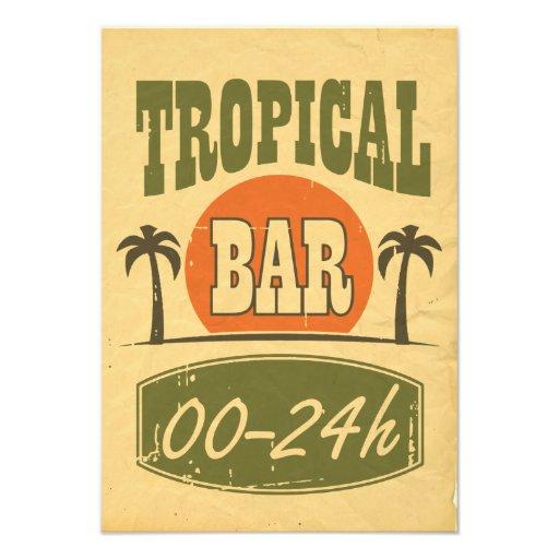 Barra tropical fotografías